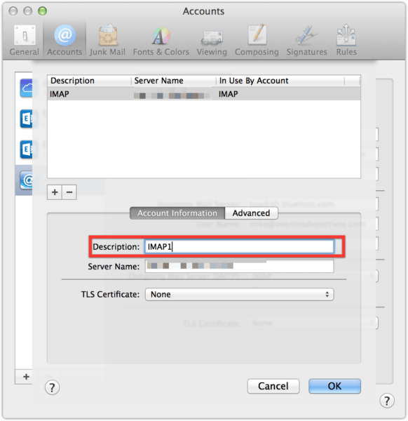 Bug in Apple Mail causes accounts to lose outgoing mail server information