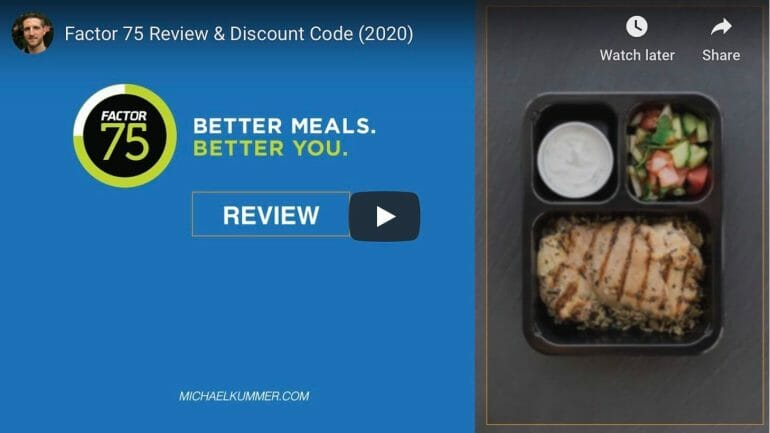 Factor 75 meal delivery service review