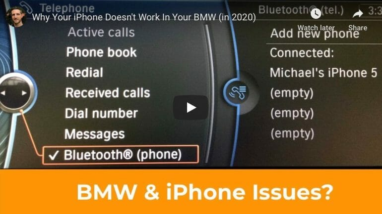 Why your iPhone doesn't work in your BMW