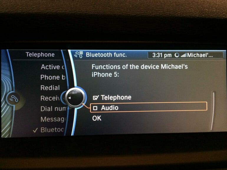 Major Bluetooth audio issues between iPhone and BMW and no CarPlay
