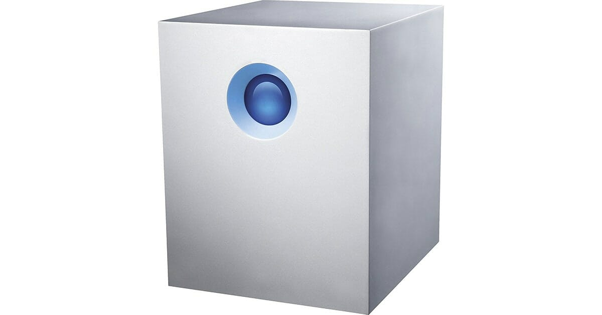 Drobo vs. LaCie 5big Thunderbolt 2 external storage solutions