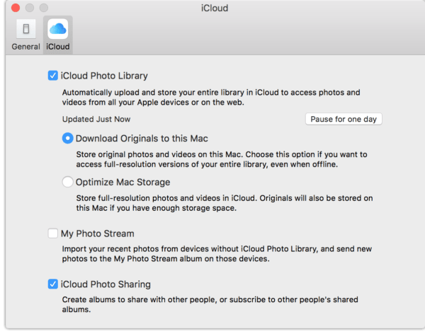 iCloud Photo Library synchronization performance