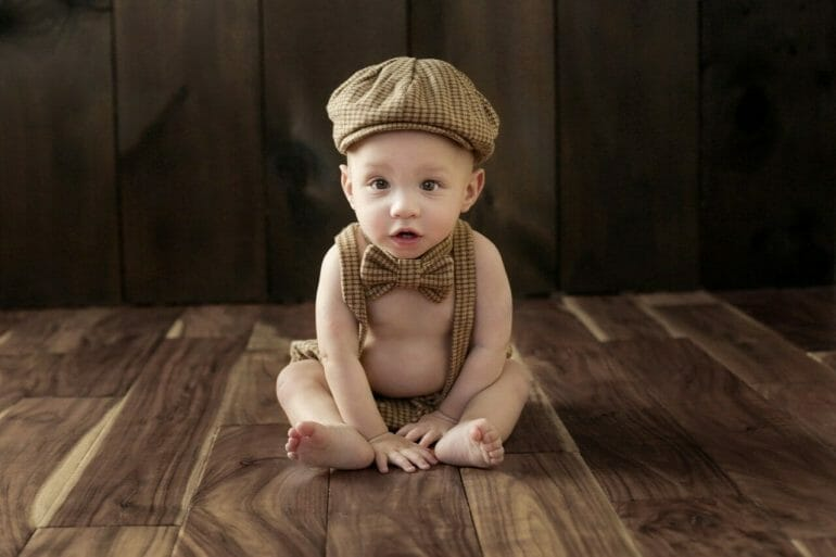 A photo of our son Lucas at 11 months old.