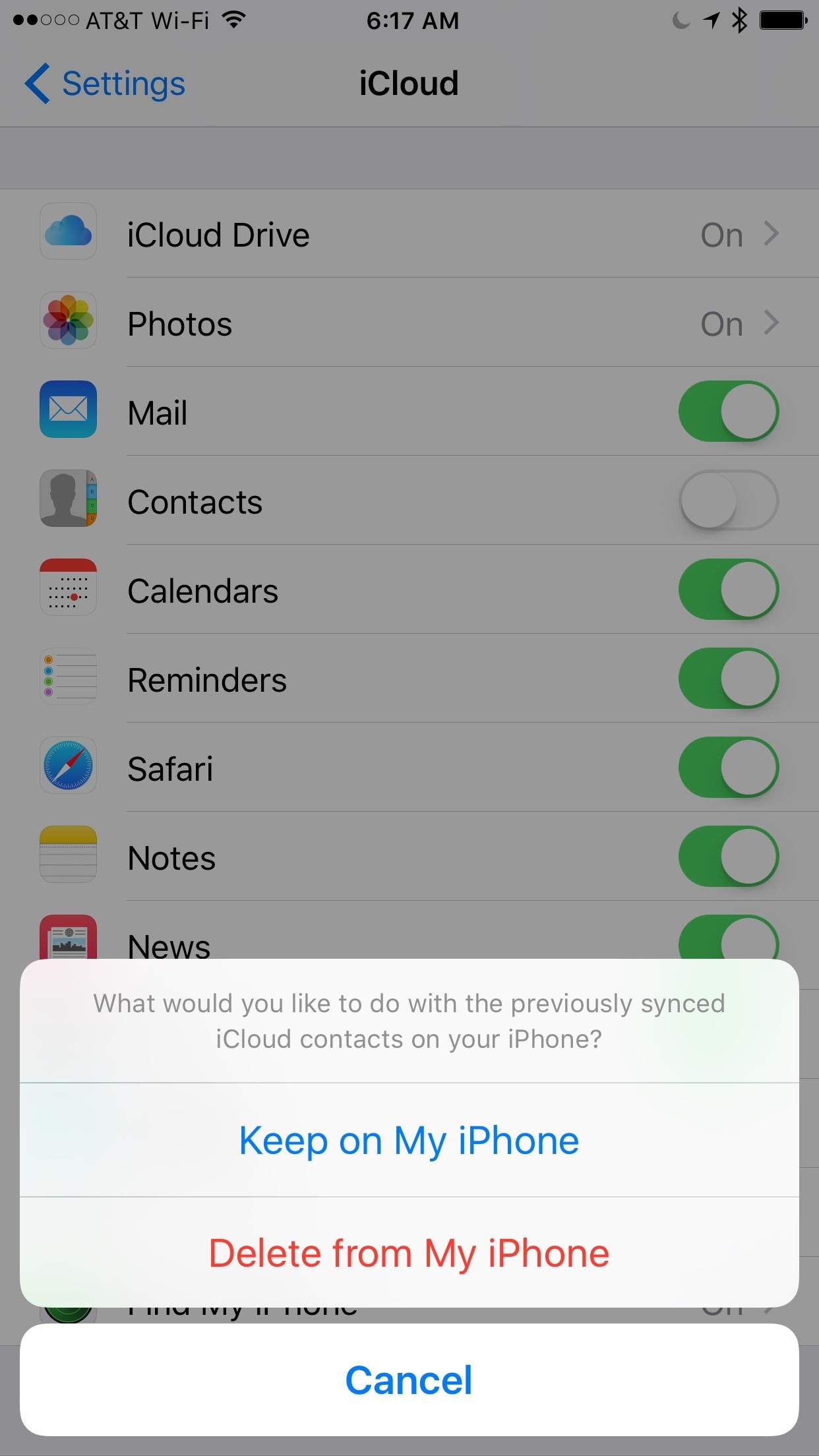 How to Move Contacts from On My iPhone to iCloud