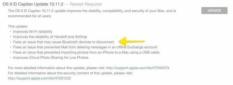 OS X El Capitan Release Notes