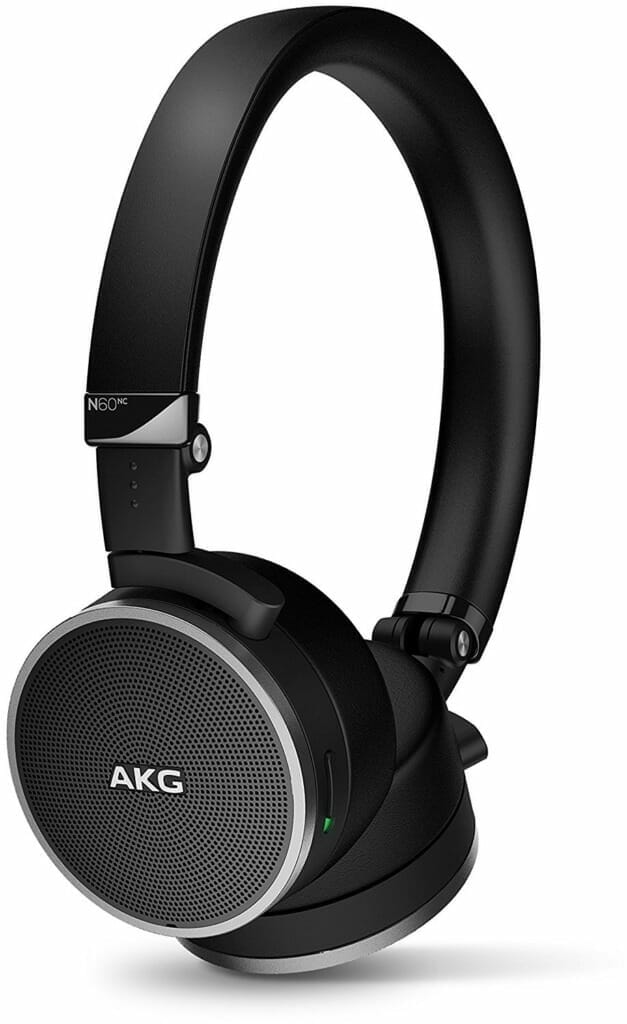 AKG N60 NC Wired Noise-Canceling Headphones