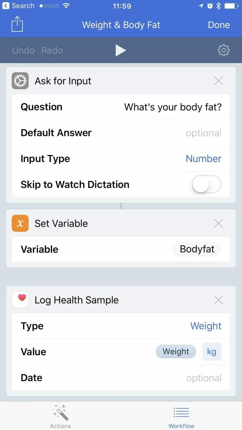 Workaround - Fitbit support for Health app and HealthKit