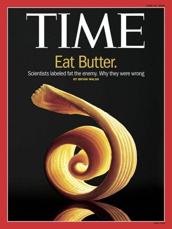 Fat is good! Even though, there are better sources of fat than butter