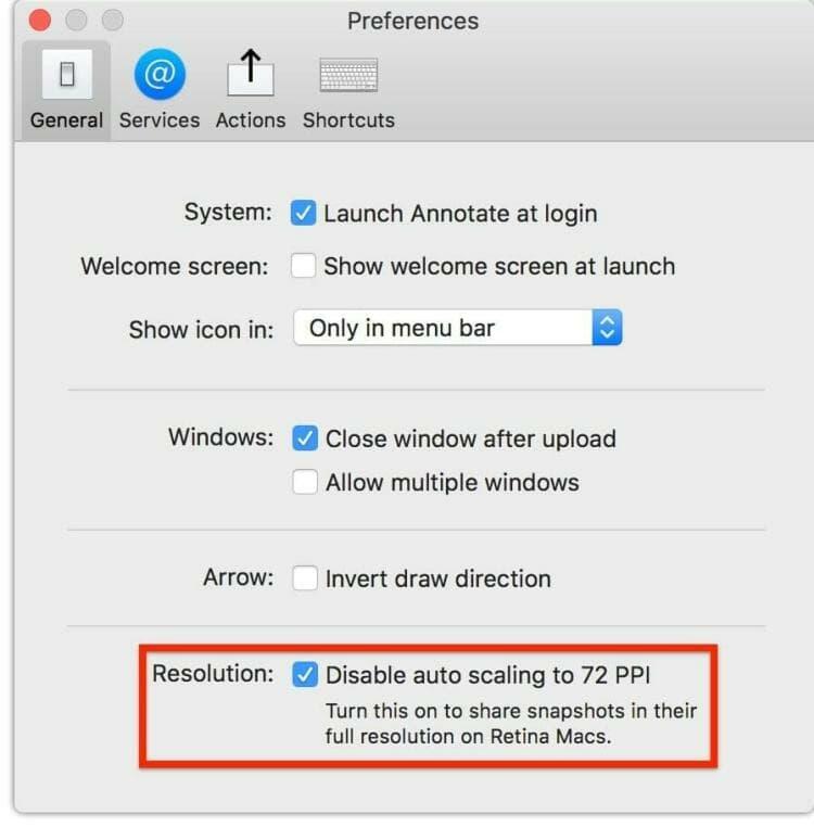 How to take a screenshot on macOS and create a Dropbox link