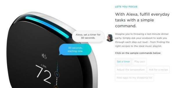 Is the new ecobee4 smart thermostat with built-in Alexa voice service worth the upgrade?