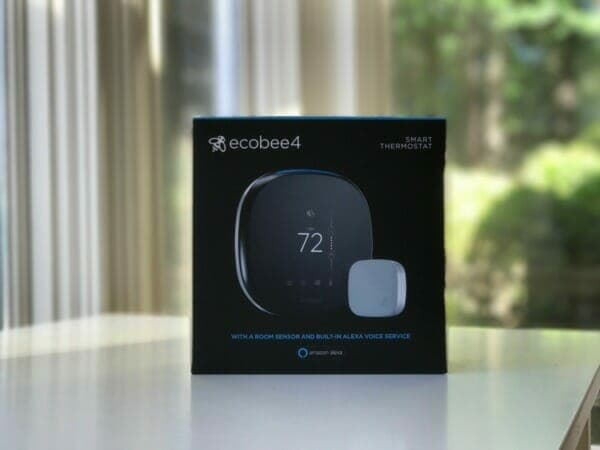 New ecobee thermostat with built-in Alexa voice service