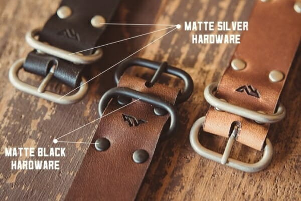 Hardware options of the Range Leather Band