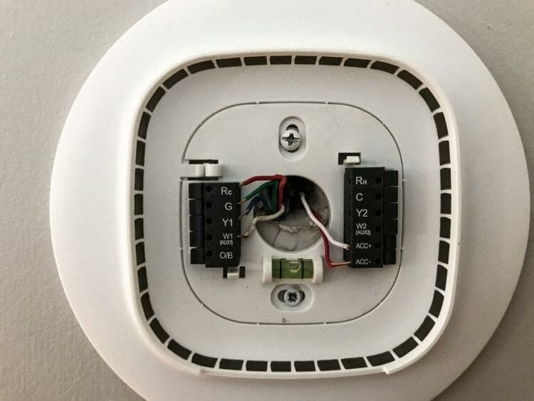 Ecobee wall connection