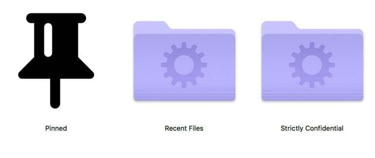 macOS - How to change the icon of files and folders