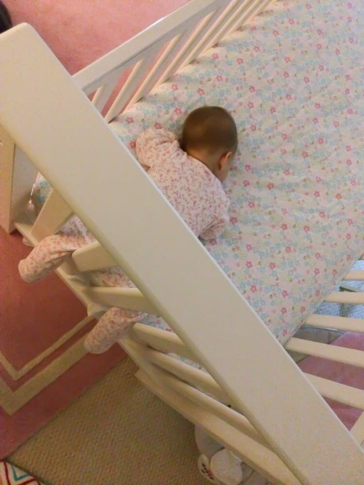 This is why you must keep your baby's crib free of toys and blankets