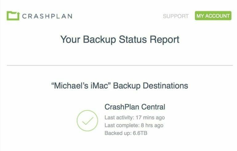 Backblaze vs. CrashPlan - Comparison of cloud backup solutions