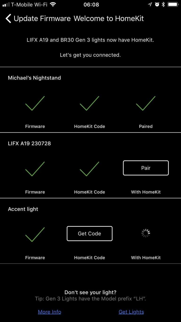 LIFX Smart LED lights now work with Apple HomeKit