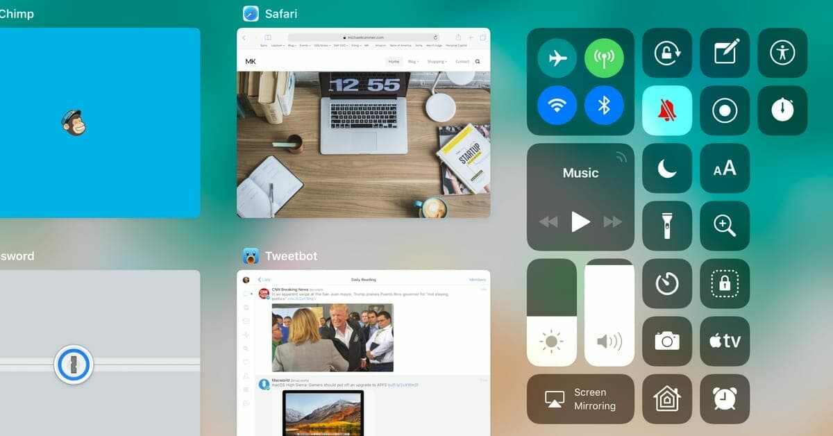 iOS 11 - How to use the new Wi-Fi and Bluetooth toggles in Control Center