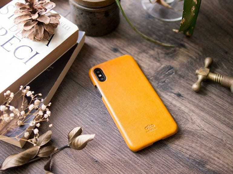 Genuine Leather Cases for iPhone XS