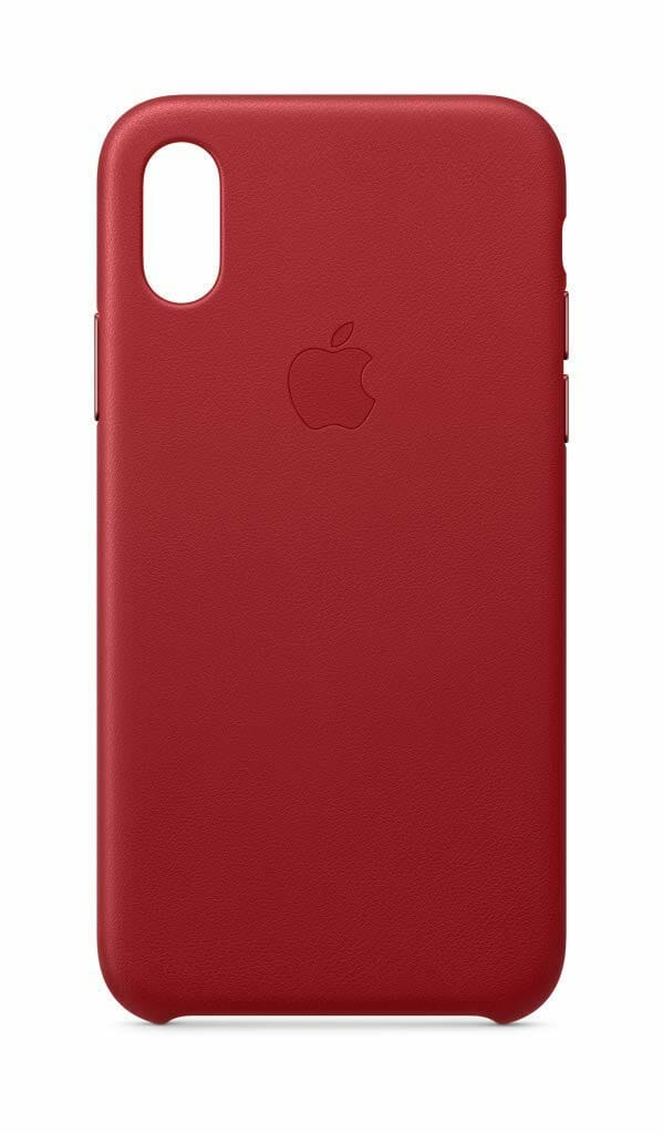 Apple Leather Case ProductRED