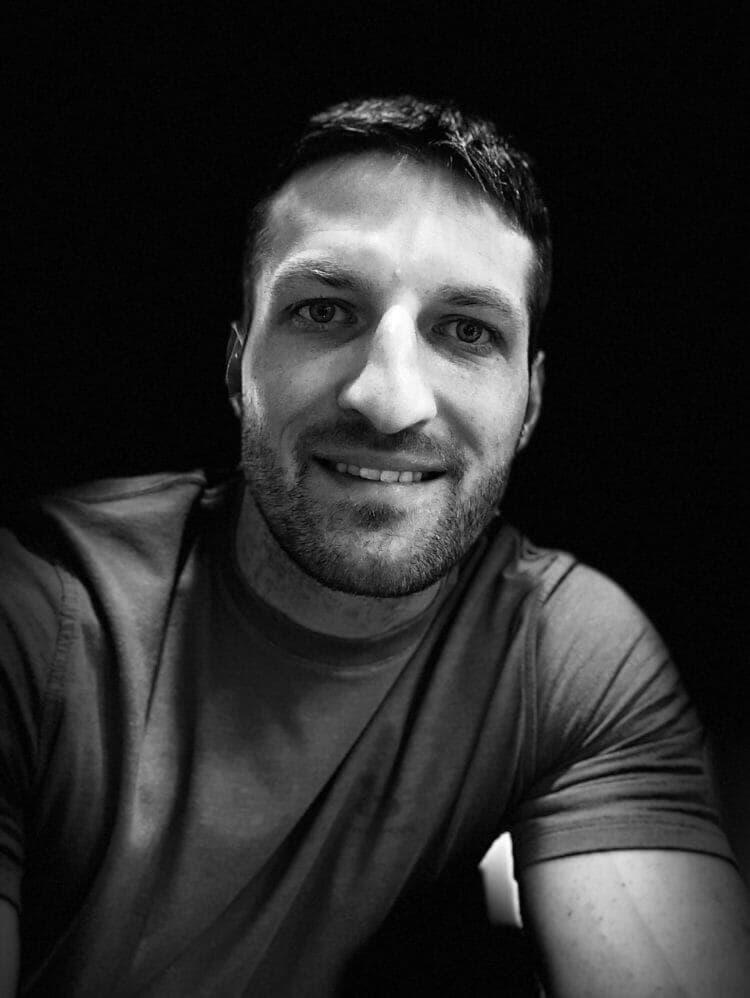 Selfie of Michael with Portrait Lighting