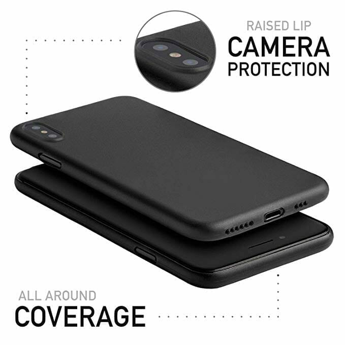 Totallee Thin iPhone XS Case Camera Protection