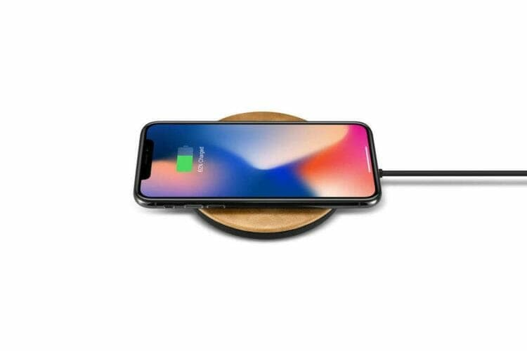 Burkley Leather Fast Wireless Charger