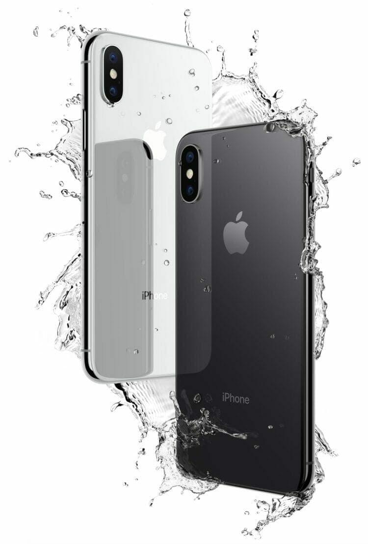 iPhone X IP67 Water Resistance
