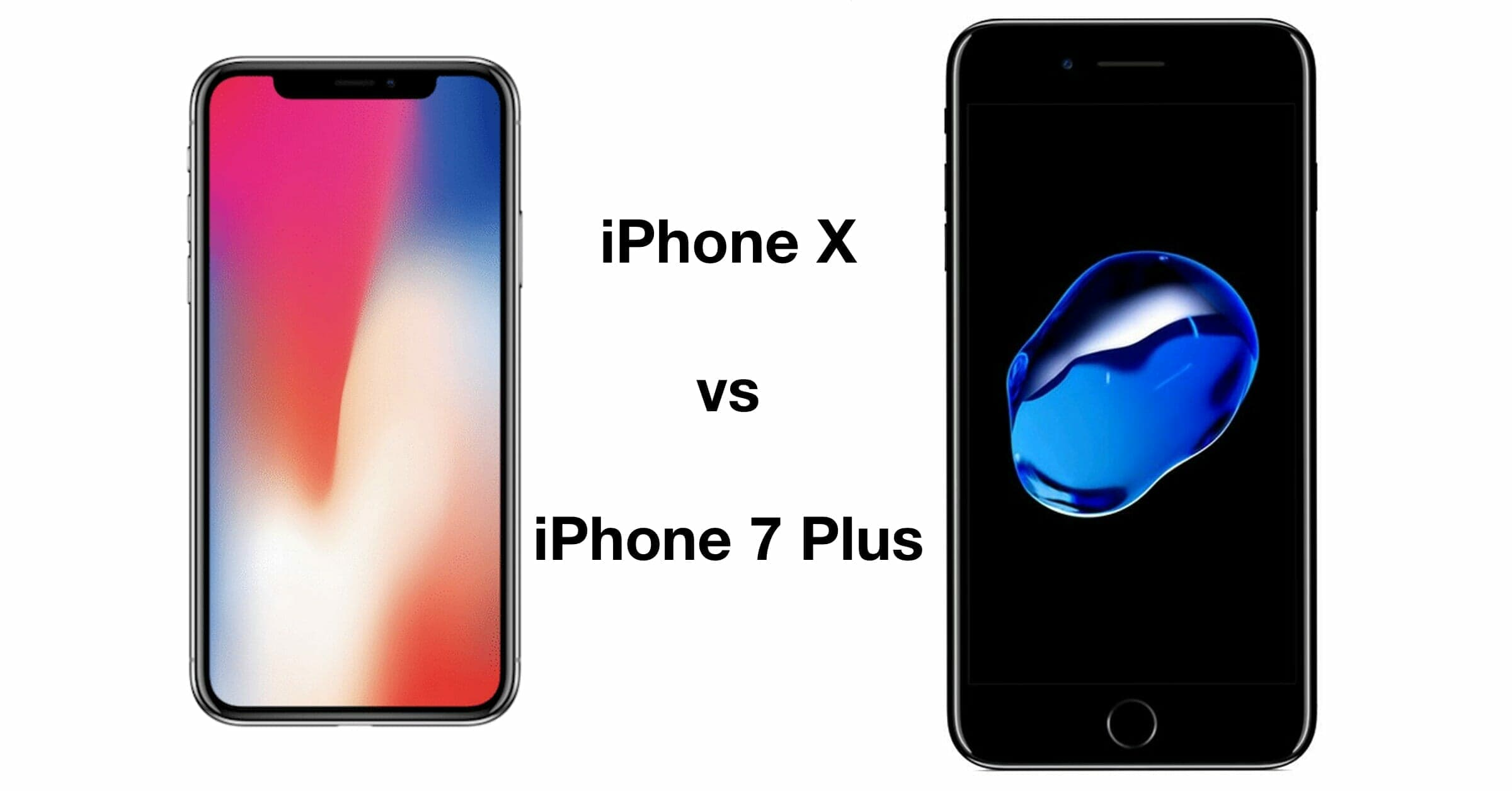In-Depth Review And Comparison Of The IPhone X Vs. IPhone 7 Plus