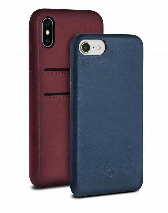 Twelve Relaxed Leather Case available with and without credit card slots
