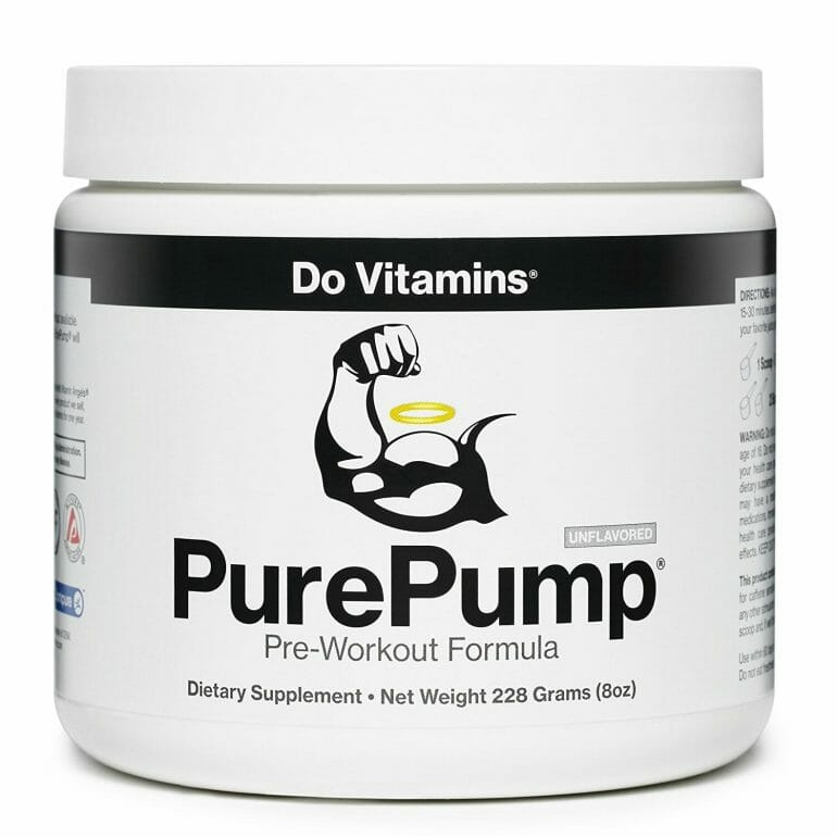 Do Vitamins - PurePump Pre-workout supplement