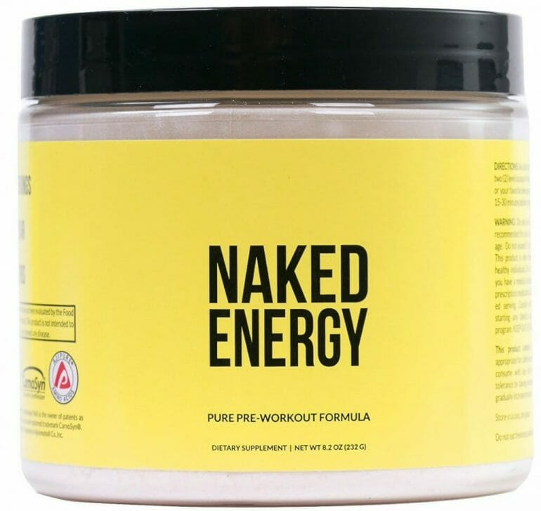 Naked Nutrition - Naked Energy