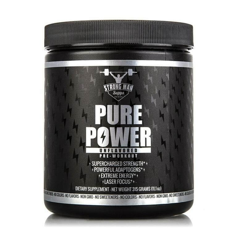 Strong Man Supps - Pure Power
