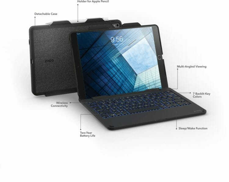 zagg slim book - overview