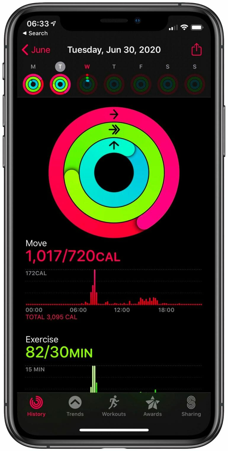 Apple Watch - Activity Rings