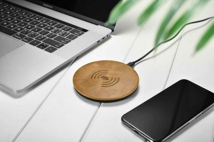 Burkley Leather Wireless Charging Pad