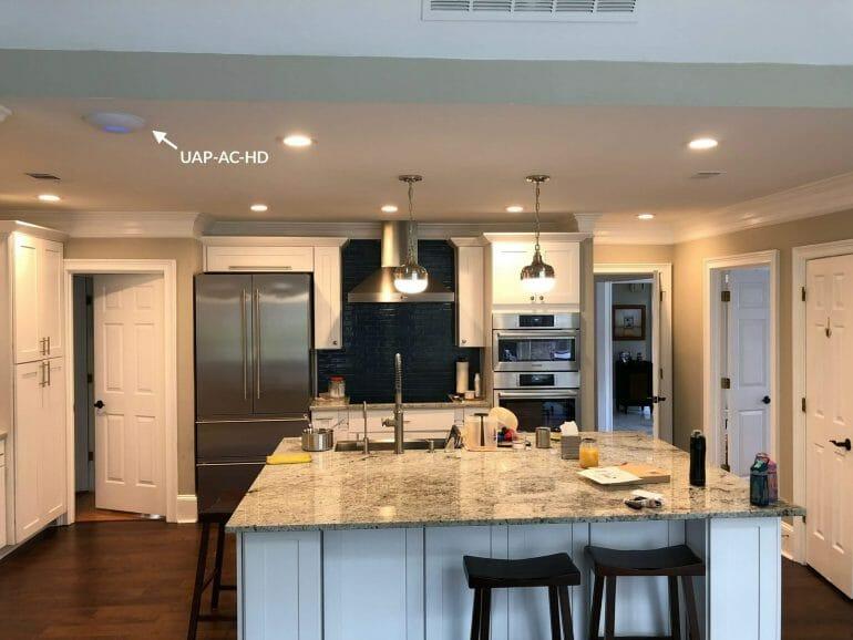 UAP-AC-HD in kitchen
