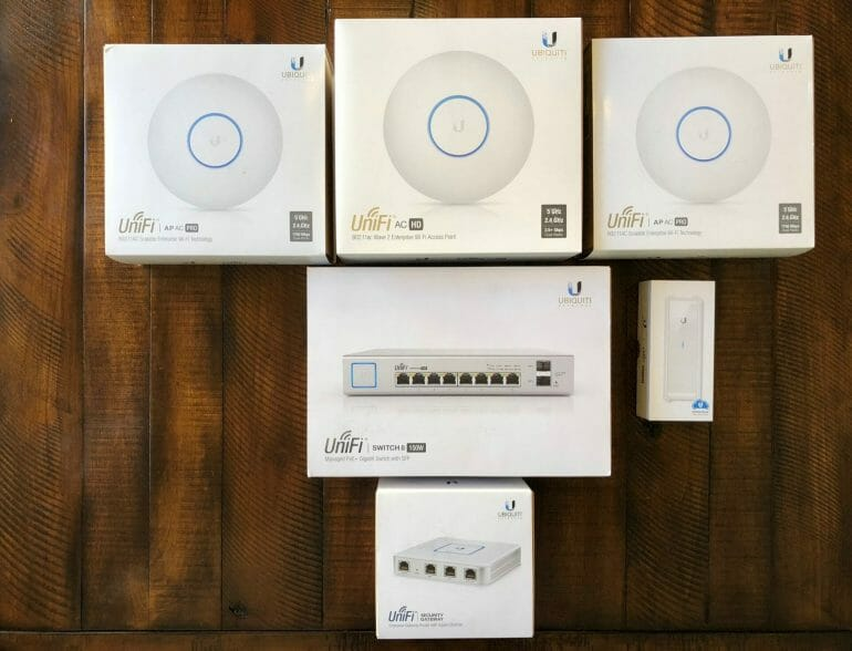 My original UniFi equipment