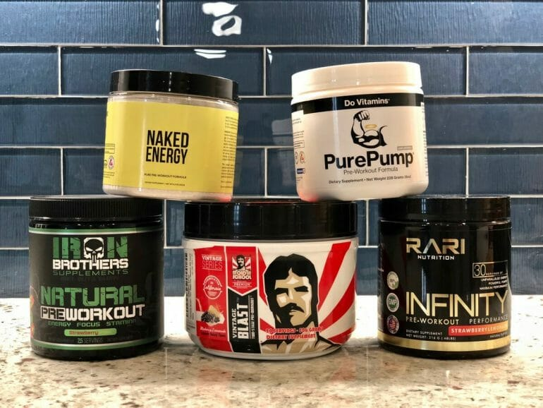 Best Natural Pre-workout Supplements Review