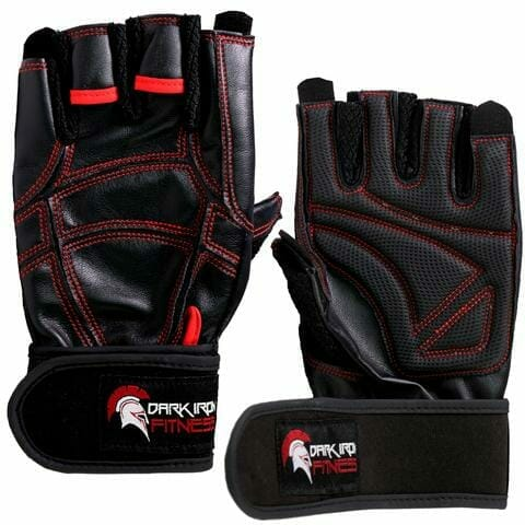 Dark Iron Fitness Leather Gloves