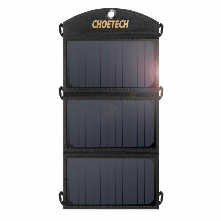 Solar Charger, CHOETECH 19W Solar Panel Charger