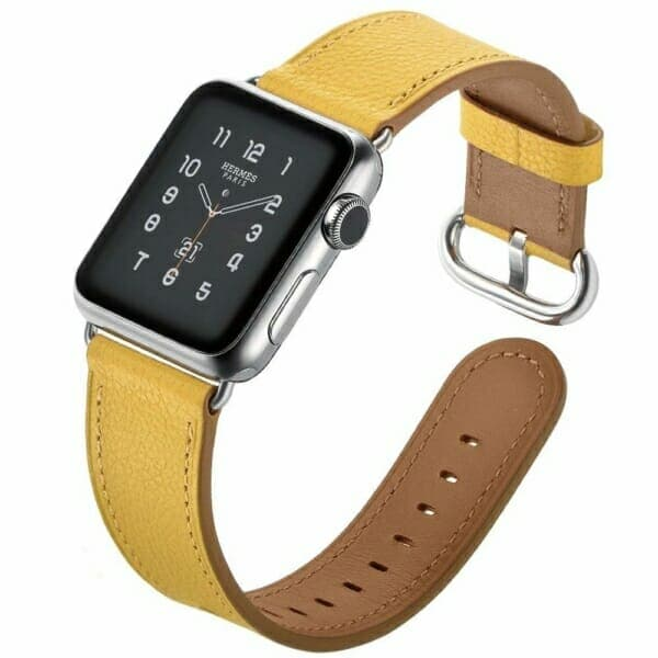 Elobeth Genuine Leather Band - Yellow