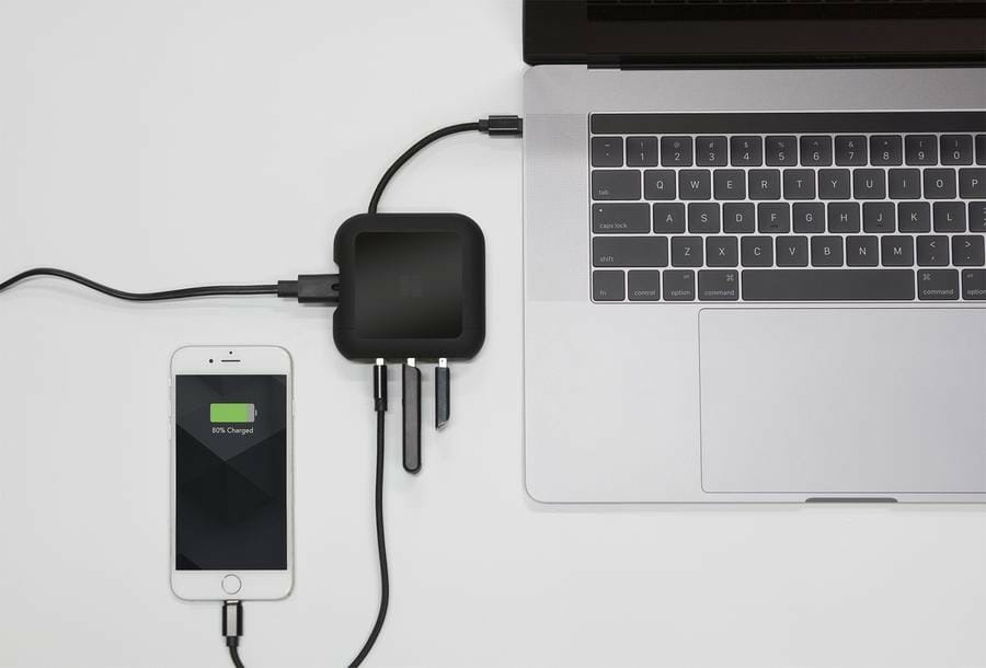 Homey PowerUp MacBook Charger and USB-C Hub