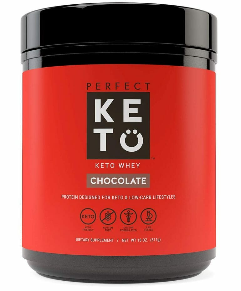 Perfect Keto - Keto Whey Protein