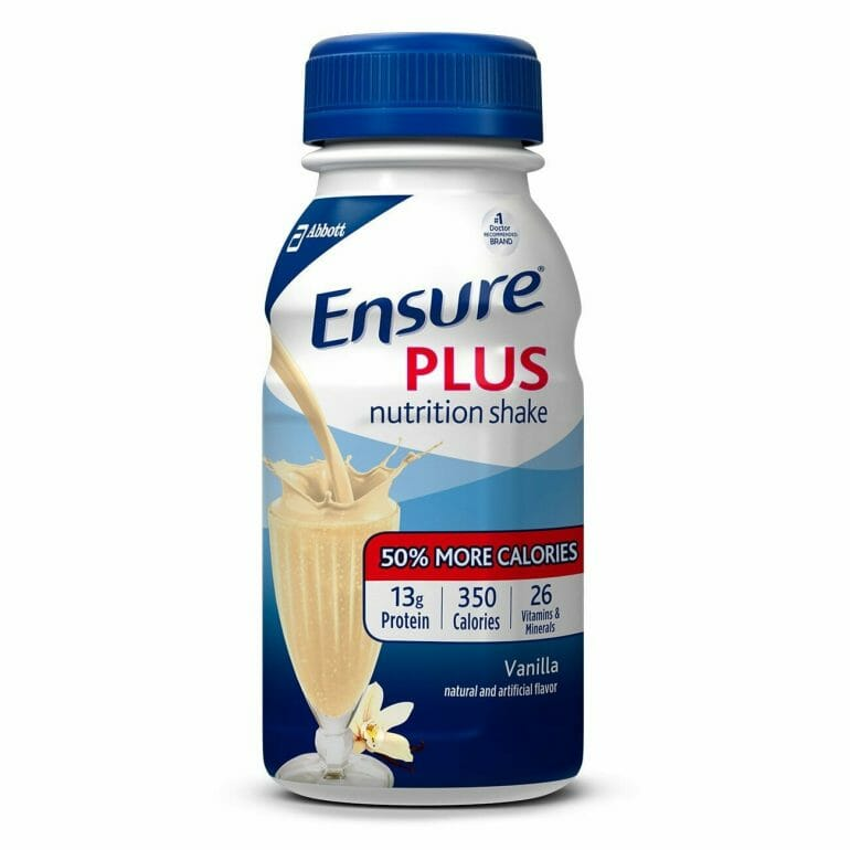 Ensure Plus Nutritional Shake