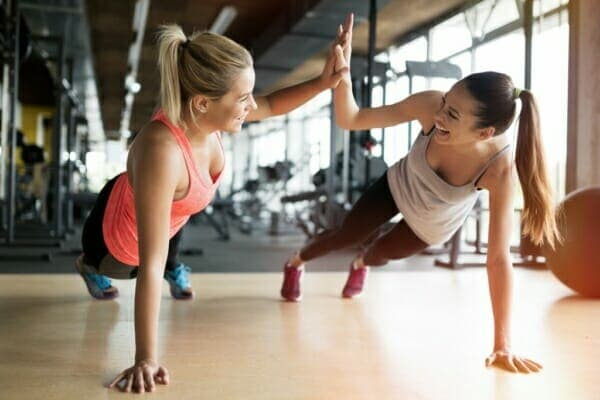 Fit people find forms of exercise they enjoy