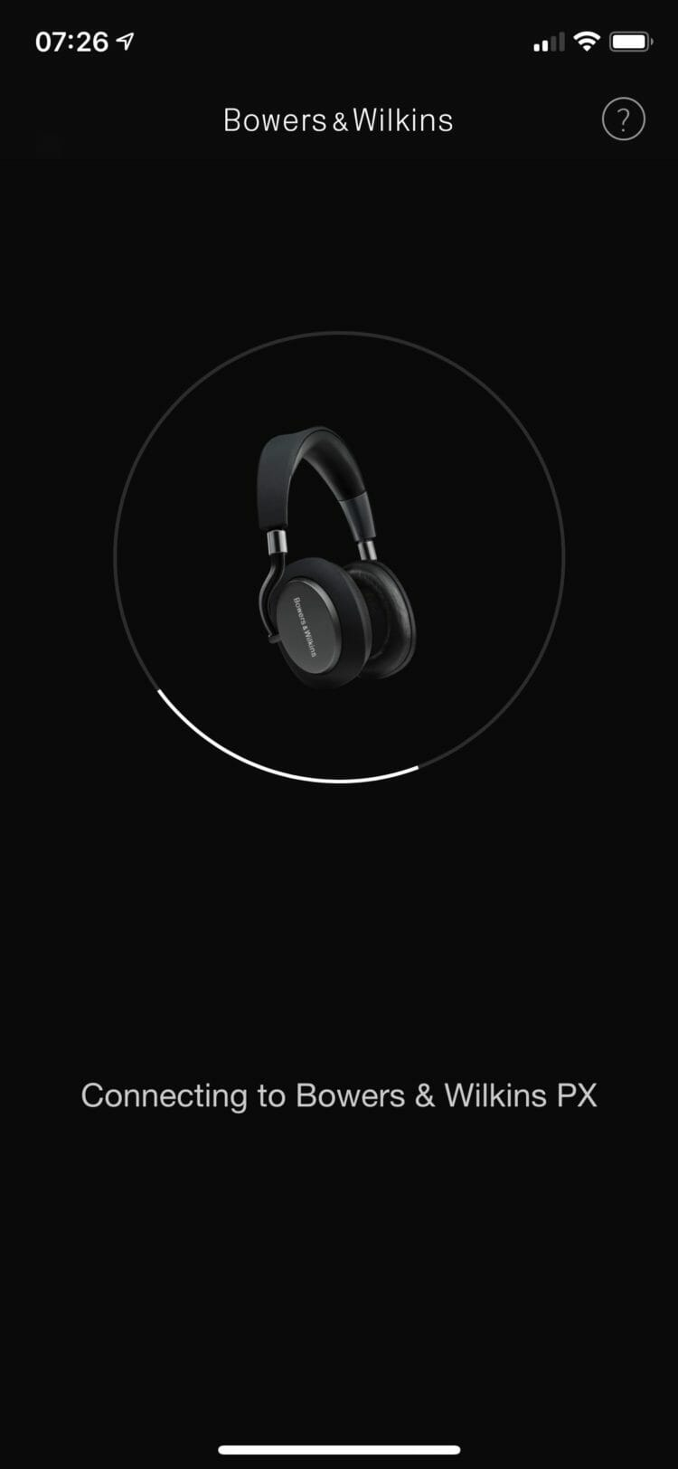 Bowers & Wilkins Headphones app
