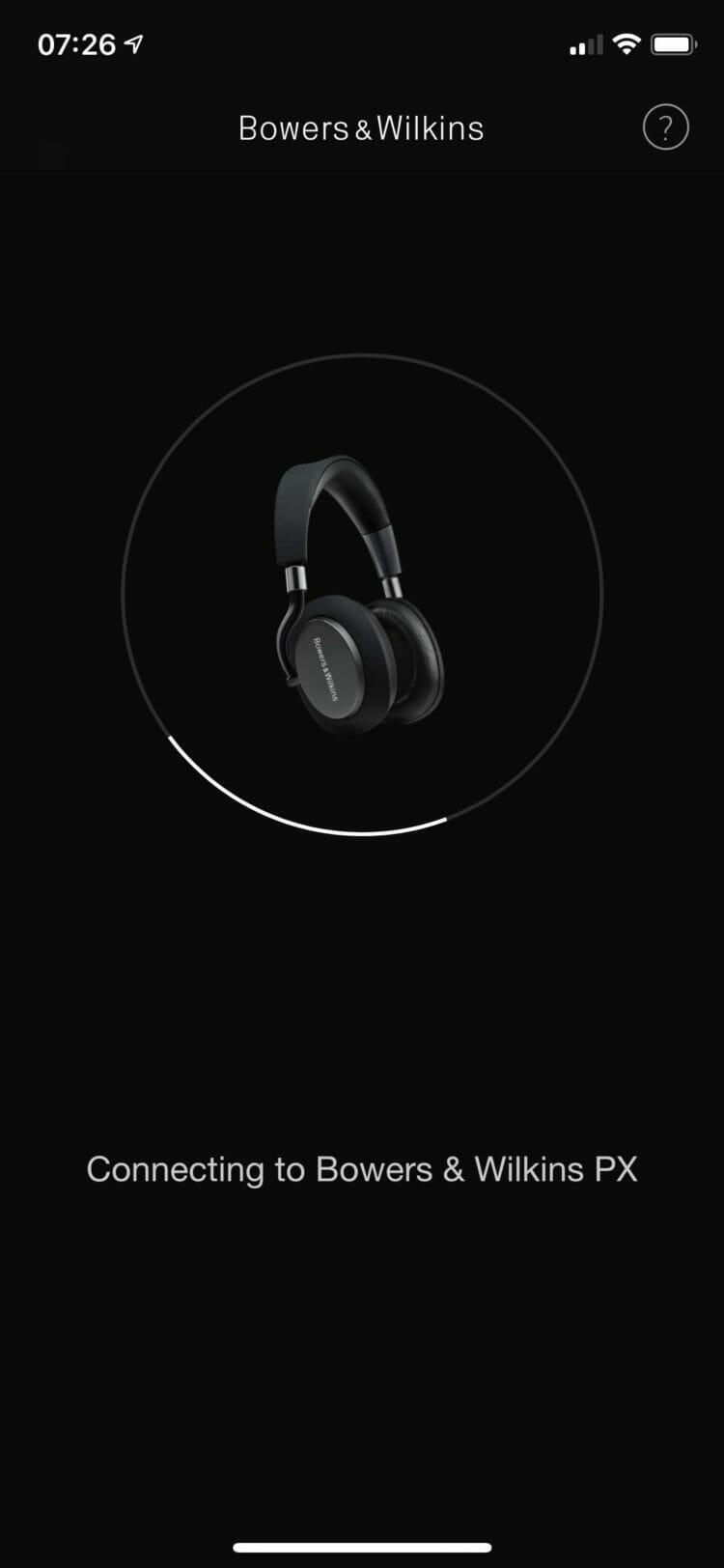 Bowers & Wilkins Headphones app