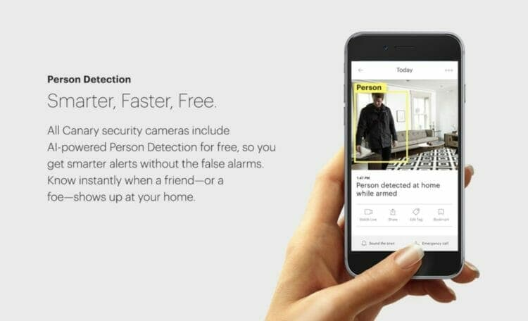 Canary App - Person Detection