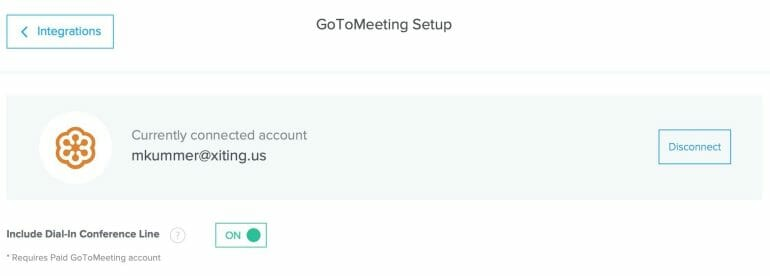 Calendly GoToMeeting Integration